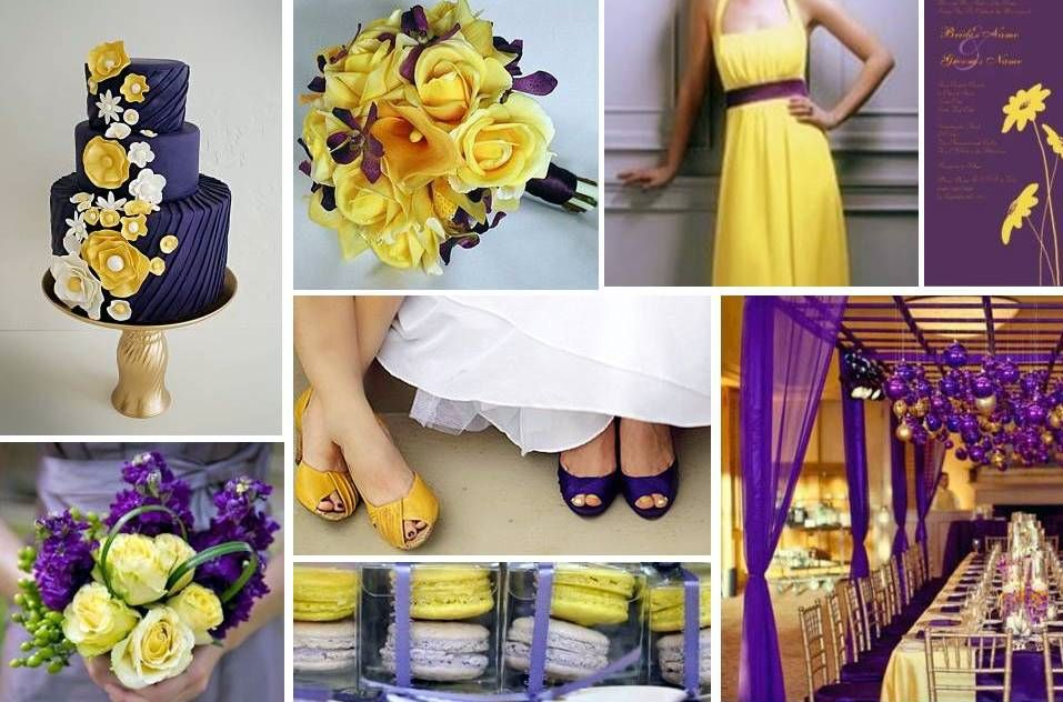 Purple and yellow wedding ideas 1000 images about wedding ideas on emasscraft org 1000 ideas about yellow purple junglespirit Images