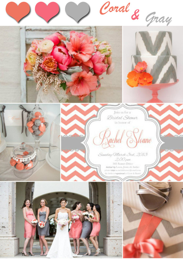 Awesome Coral Color Wedding Ideas Pictures - Styles & Ideas 2018 ...