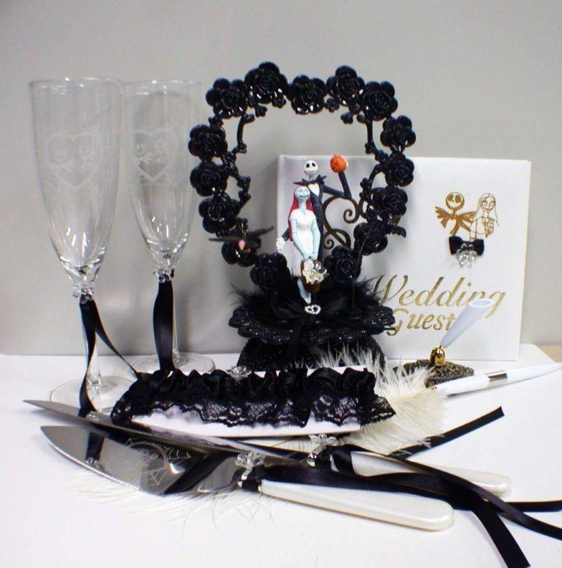 Nightmare Before Christmas Wedding Supplies