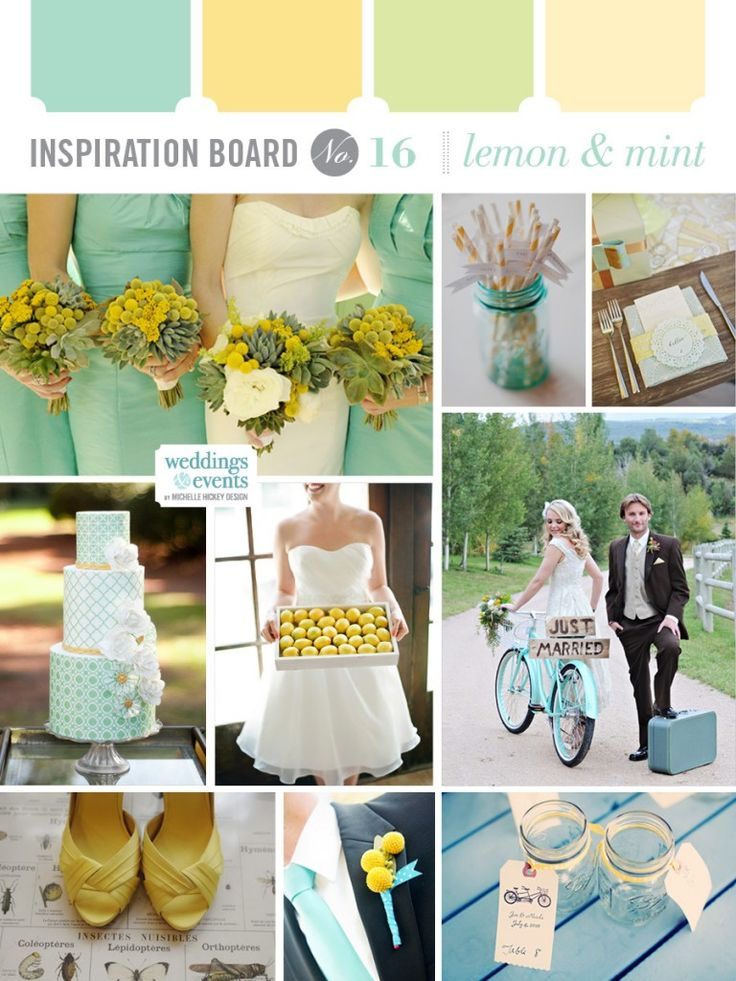 Teal And Mint Green Wedding - Unique Wedding Ideas