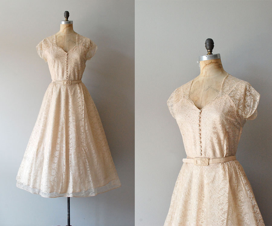 40s Wedding Dress