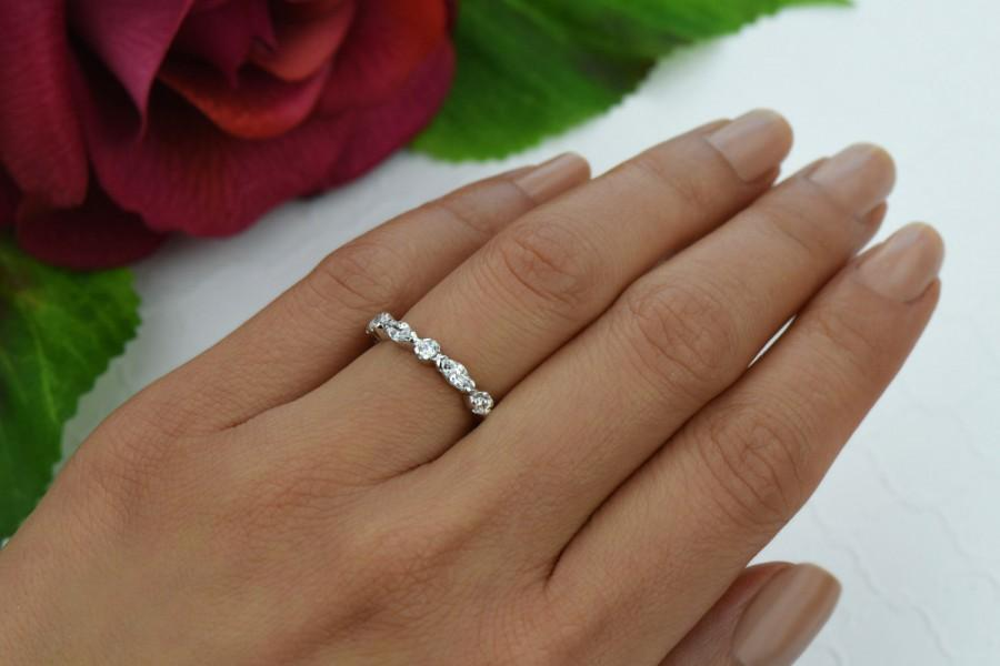 Wedding Bands For Marquise Engagement Ring