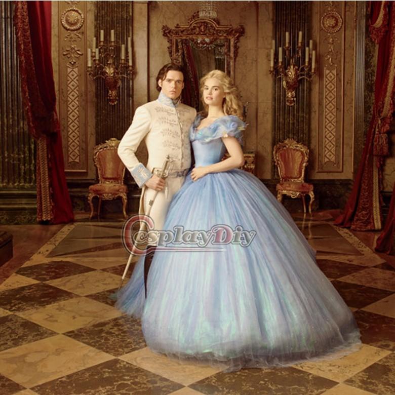 2017 New Movie Cinderella Princess Prince Richard Madden Diana Wedding Table