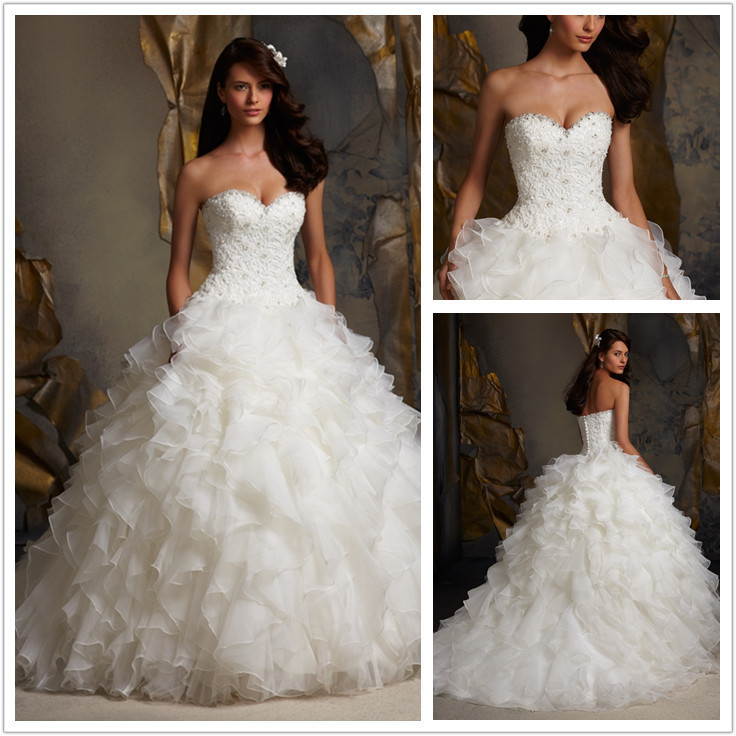 Beauty And The Beast Wedding Dress