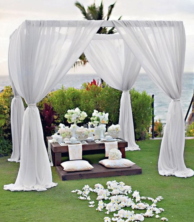 Wedding decoration craft ideas great craft ideas handmade wedding outdoor wedding decoration ideas junglespirit Gallery