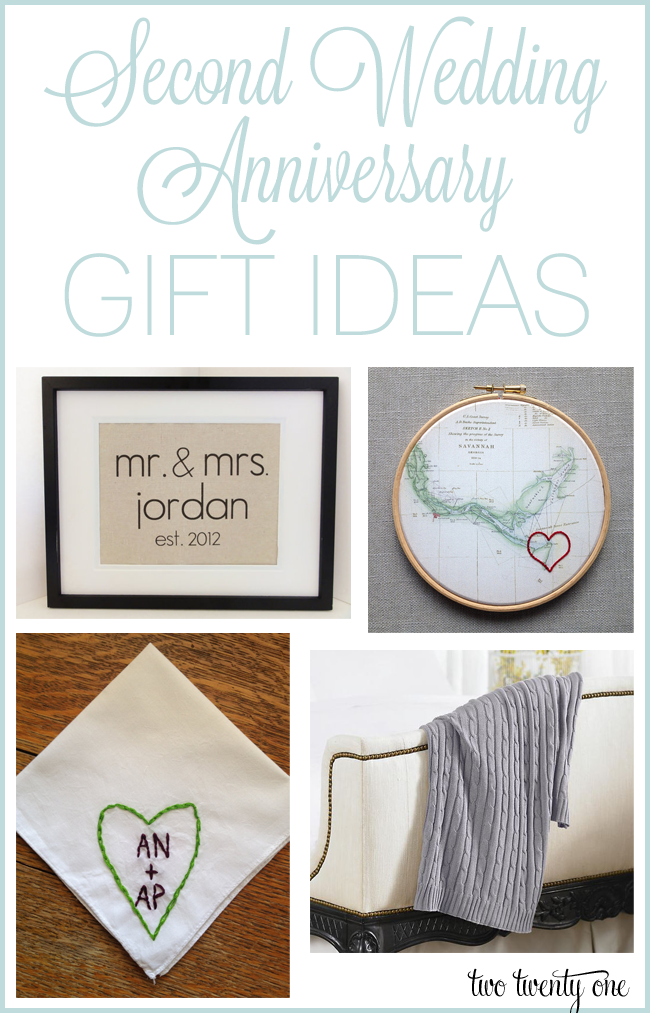 2 Wedding Anniversary Gifts For Him