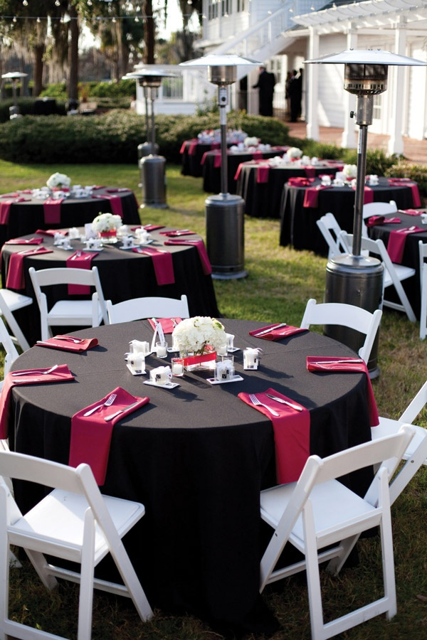 Red black and white wedding decorations junglespirit Images