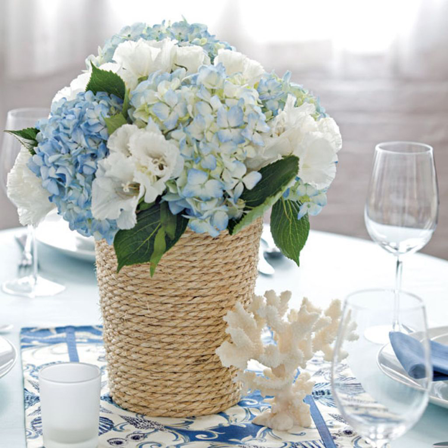 Ideas For Wedding Flower Arrangements: Beach Wedding Flowers Centerpieces