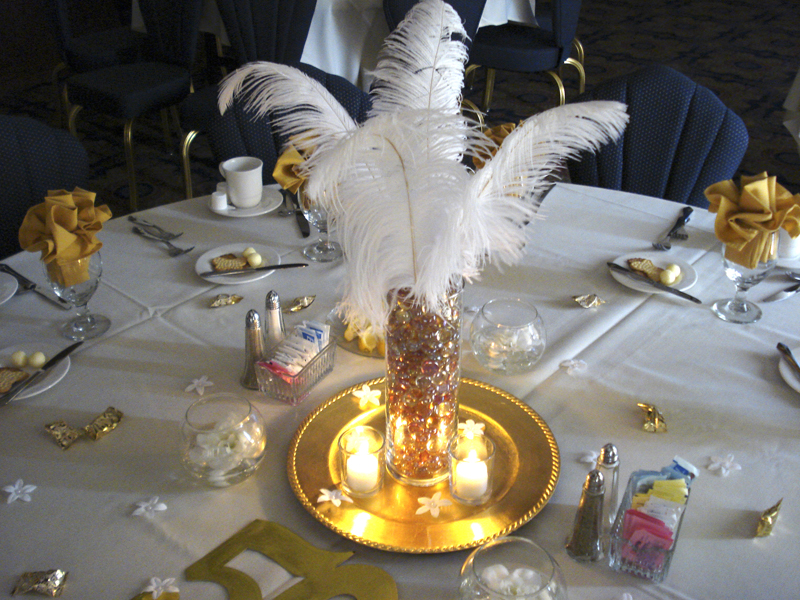 60th wedding anniversary centerpiece ideas - Wedding Decor Ideas