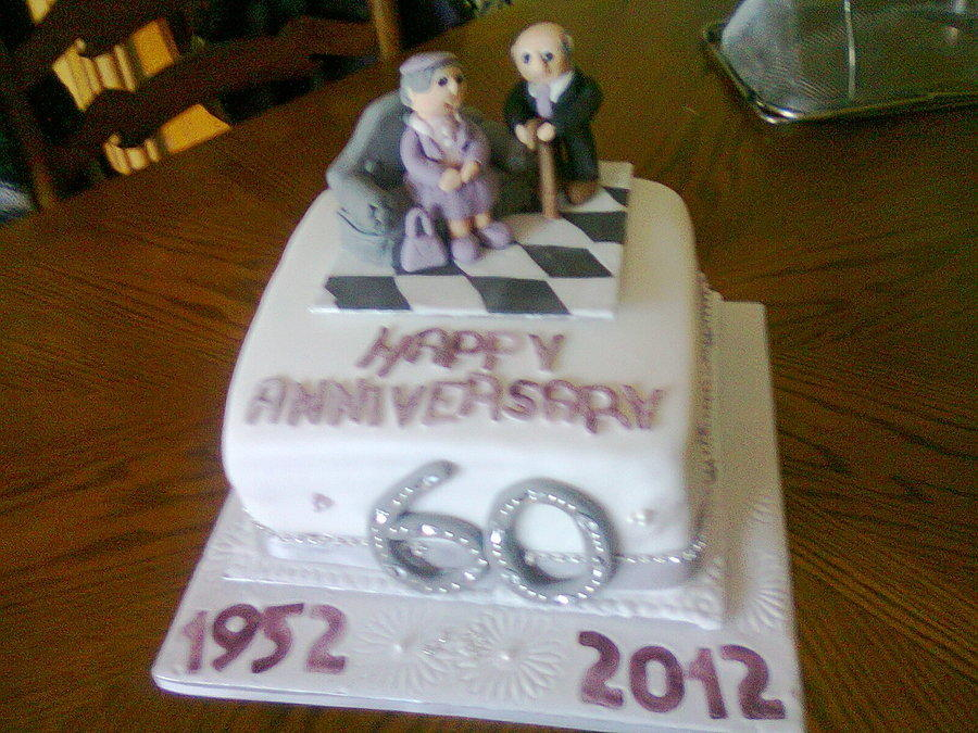 60th Wedding Anniversary 55 Cakes