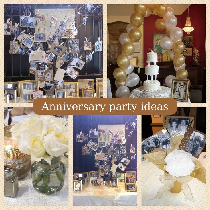 Ideas for a 60th wedding anniversary celebration for Anniversary decoration ideas home