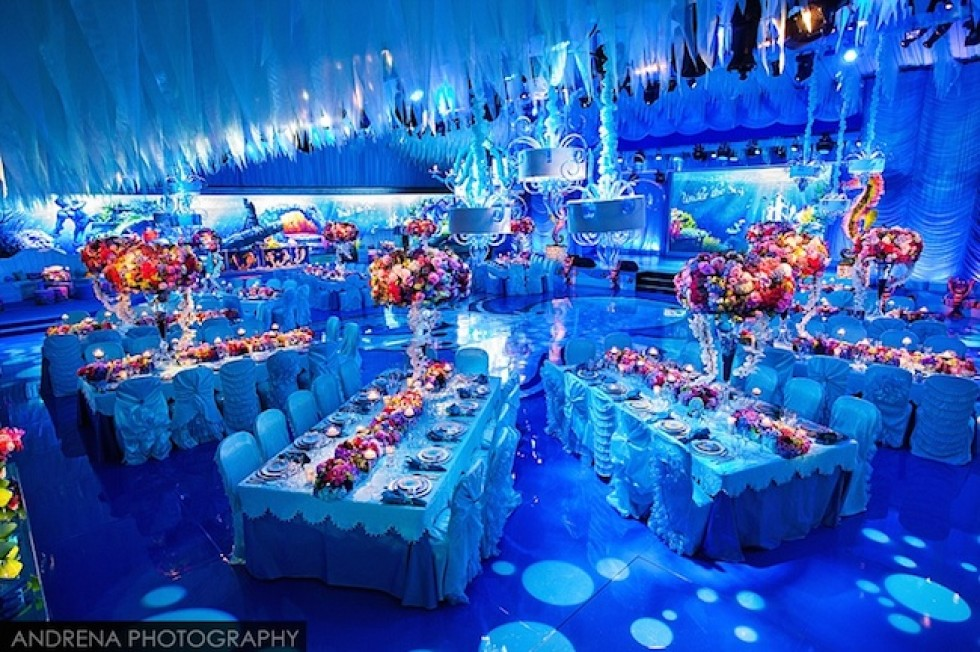 Under The Sea Themed Wedding