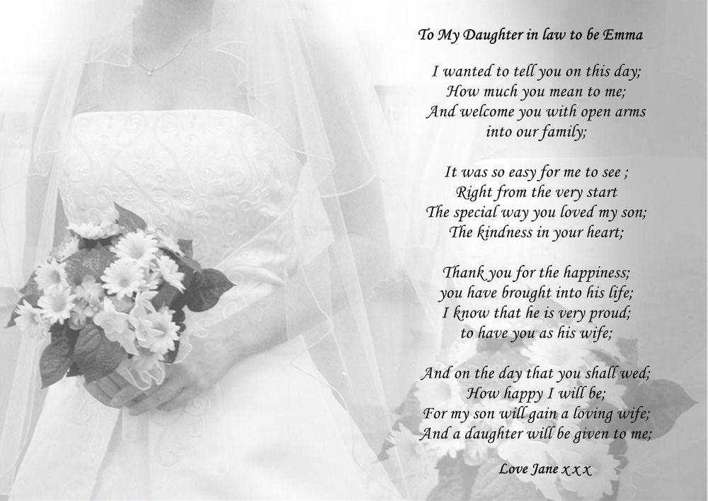 Bride Groom Daughter Wedding Cake