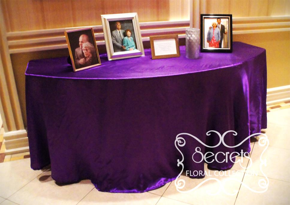 Gro Royal Purple Wedding Theme Fotos Brautkleider Ideen