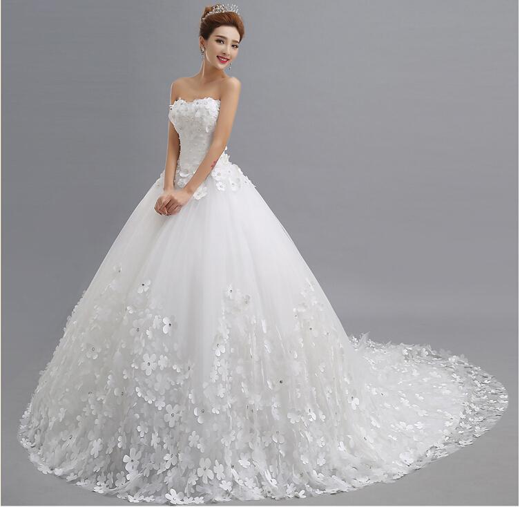 Lace Princess Wedding Dress