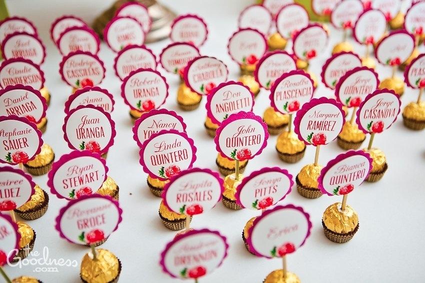 wedding name tags ideas