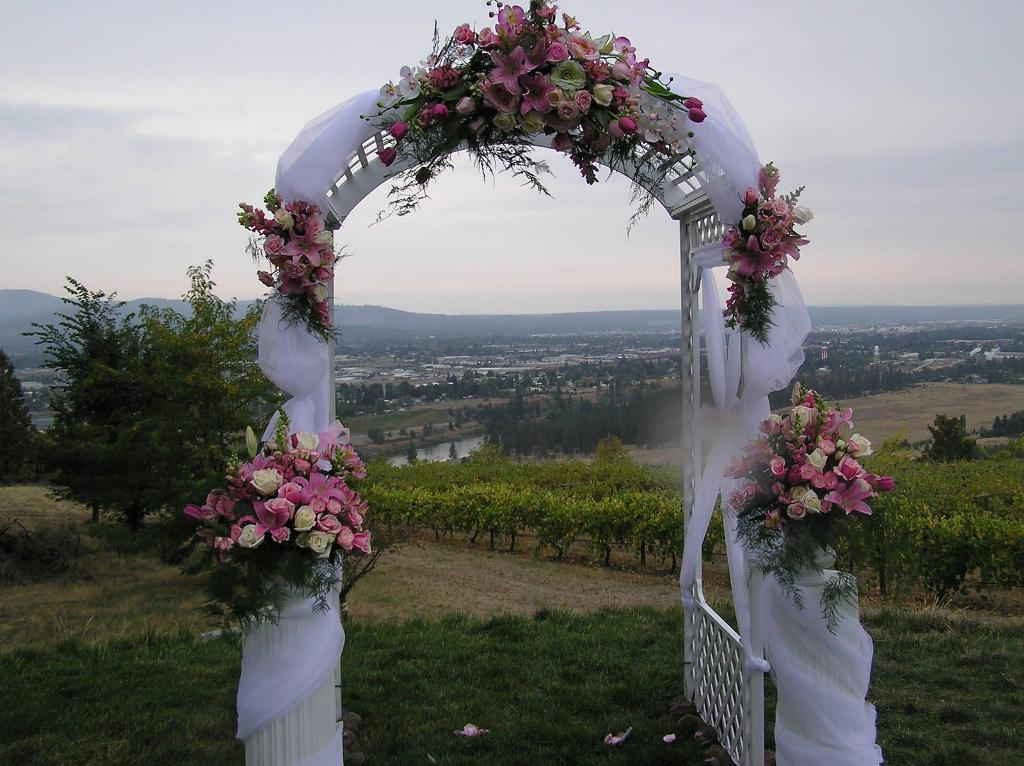 Wedding arch decoration for Arch decoration pictures