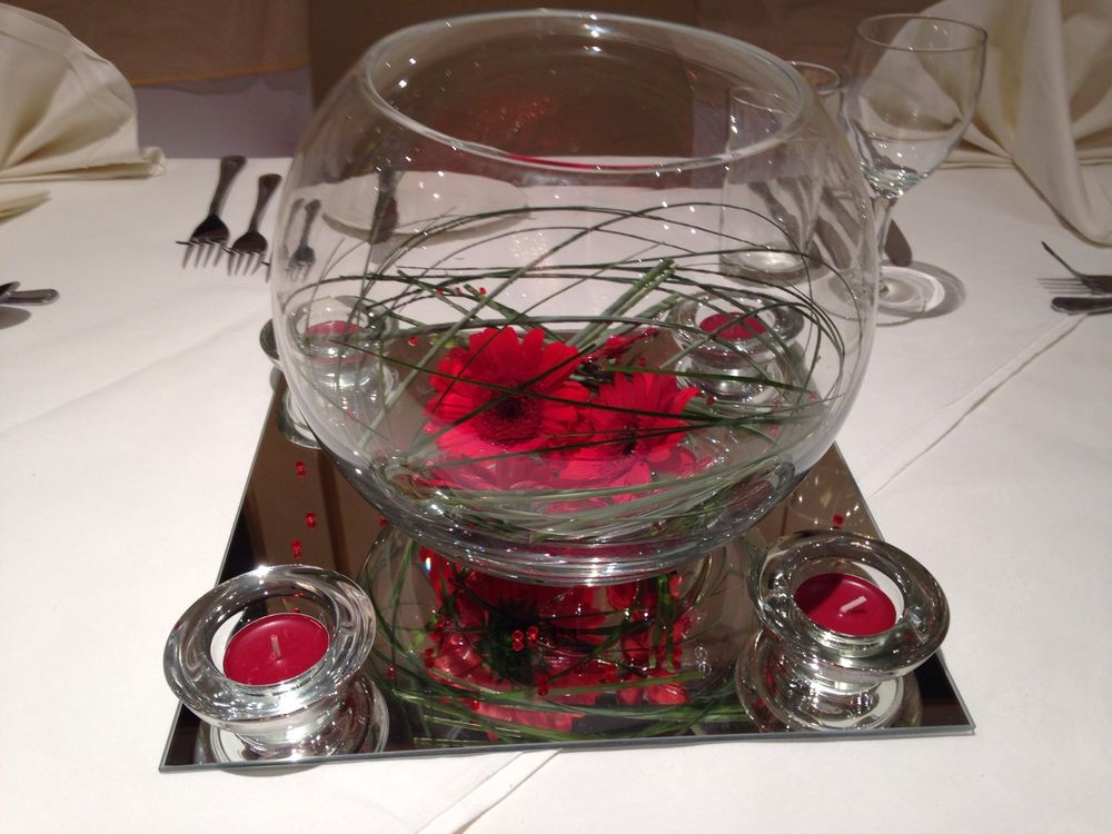 Glass Fish Bowls For Table Decorations New Best Fish Bowl Wedding Centerpiece Images  Styles & Ideas 2018 2018
