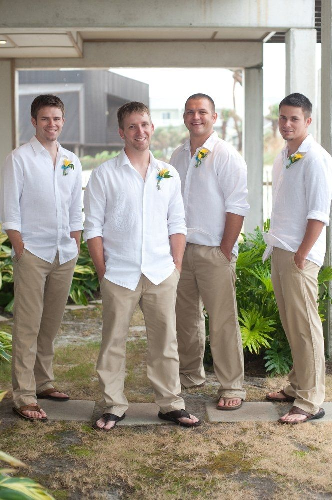 Beach Wedding Attire For Male Guests