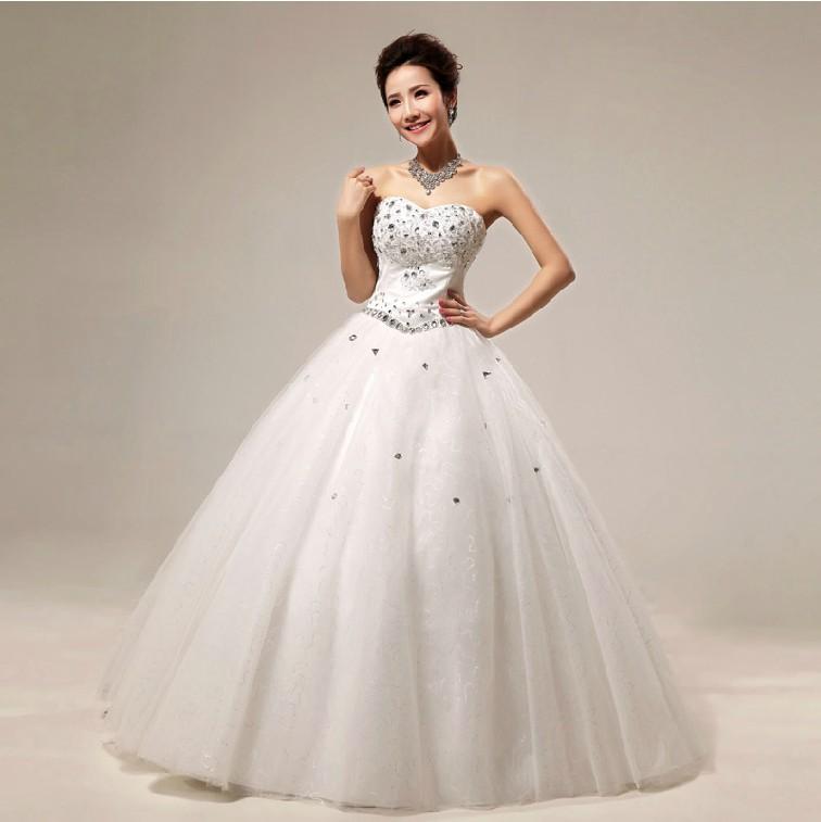 Cheap beautiful princess wedding dresses