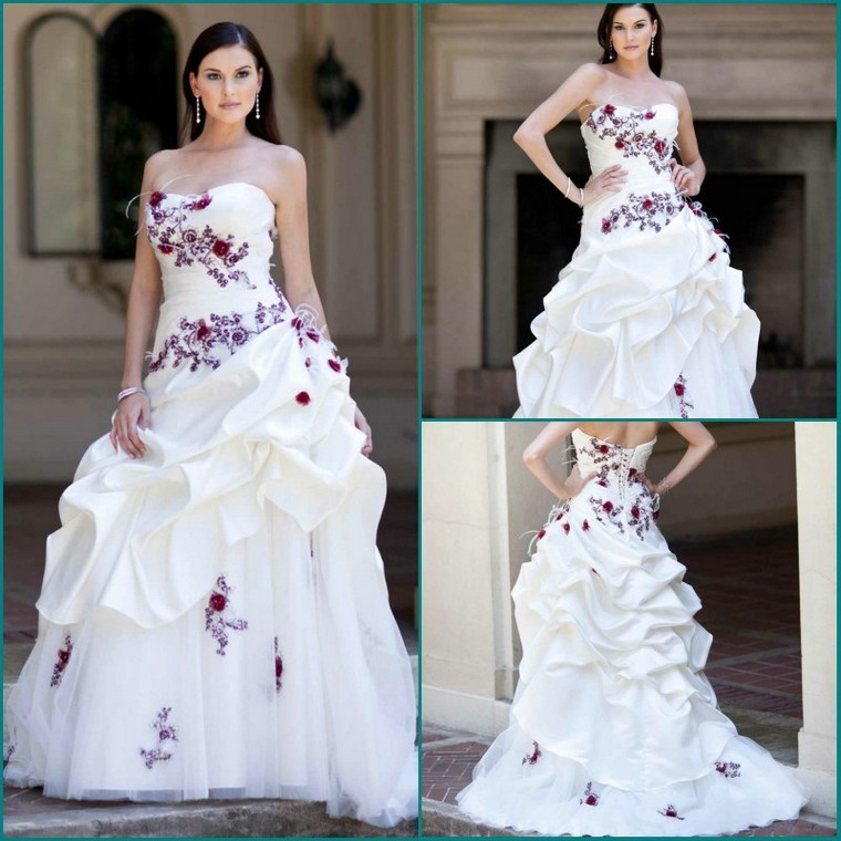 White and purple wedding dress black and purple gothic wedding dress junglespirit Image collections