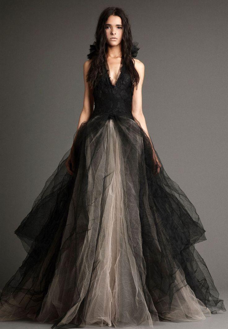 Black White Wedding Dress – Fashion dresses