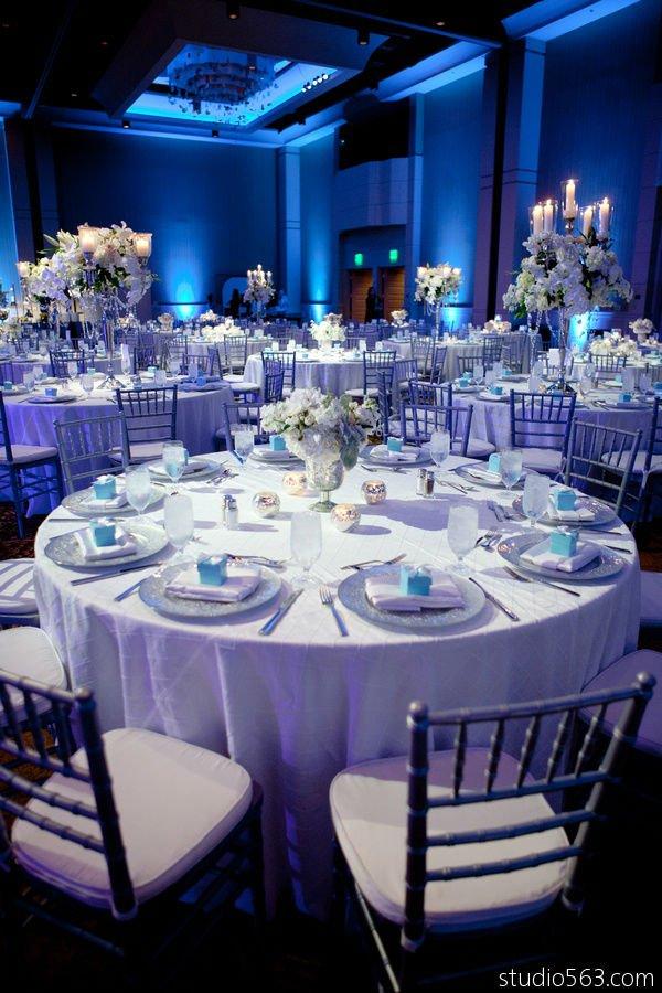 White Wedding Theme On Emcraft Org Blue