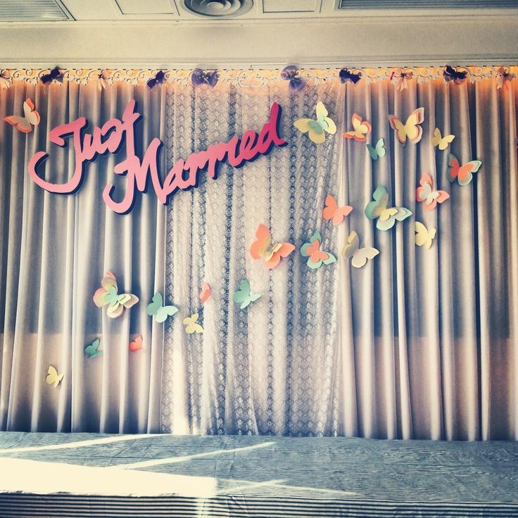 Modern Vintage Wedding Decor Lace Backdrop