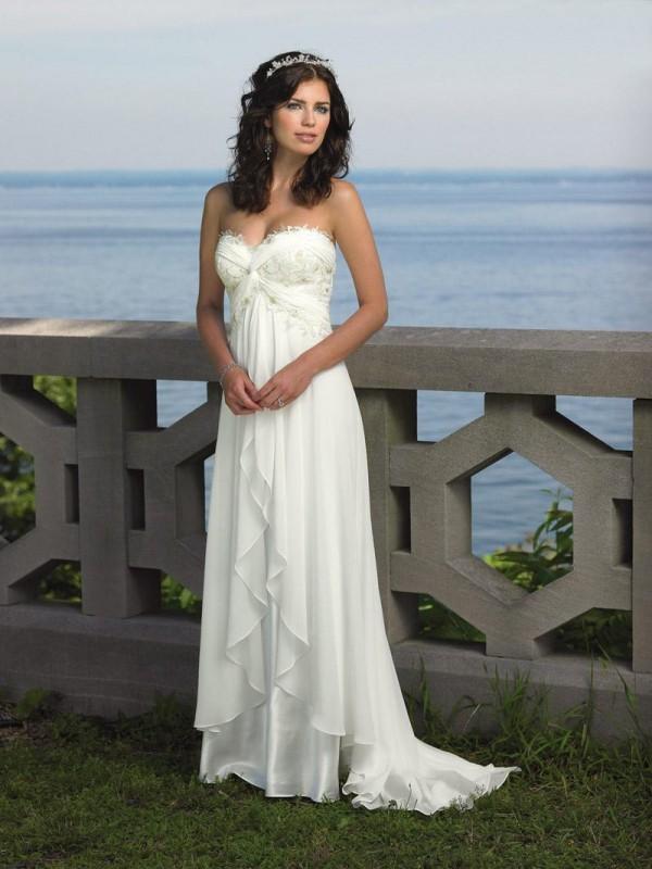 Casual Beach Wedding Dresses. Wedding Dresses. Wedding Ideas And ...