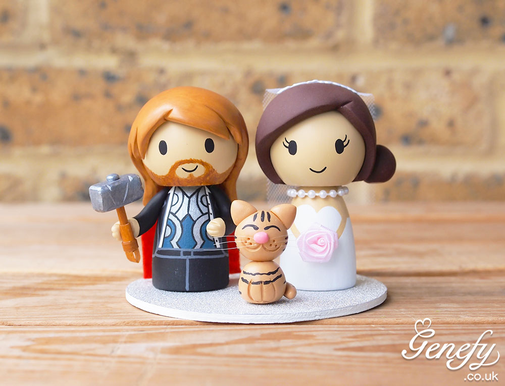 Cat Wedding Cake Toppers And Thor On Emcraft Org
