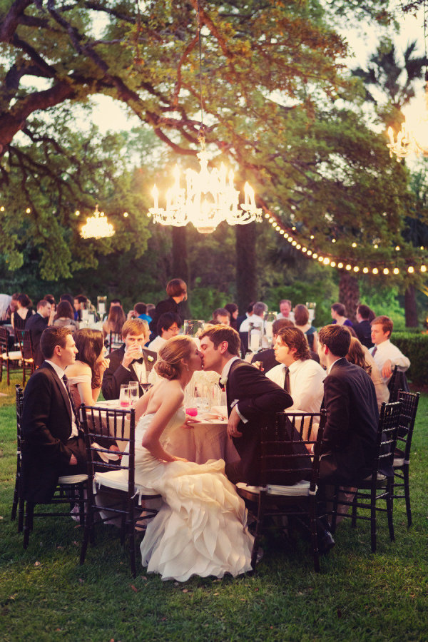 Chandeliers Outdoor Weddings And Outside Wedding On Emasscraft Org