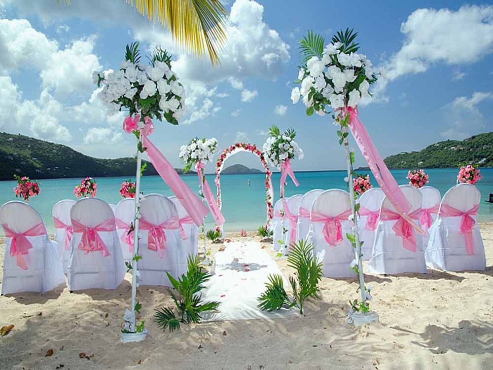 Cheap Beach Wedding Decorations Ideas 26683