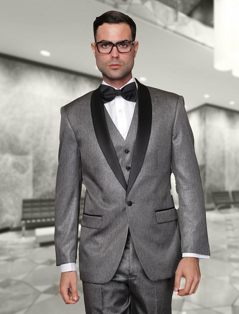 Grey Wedding Suits For Groom