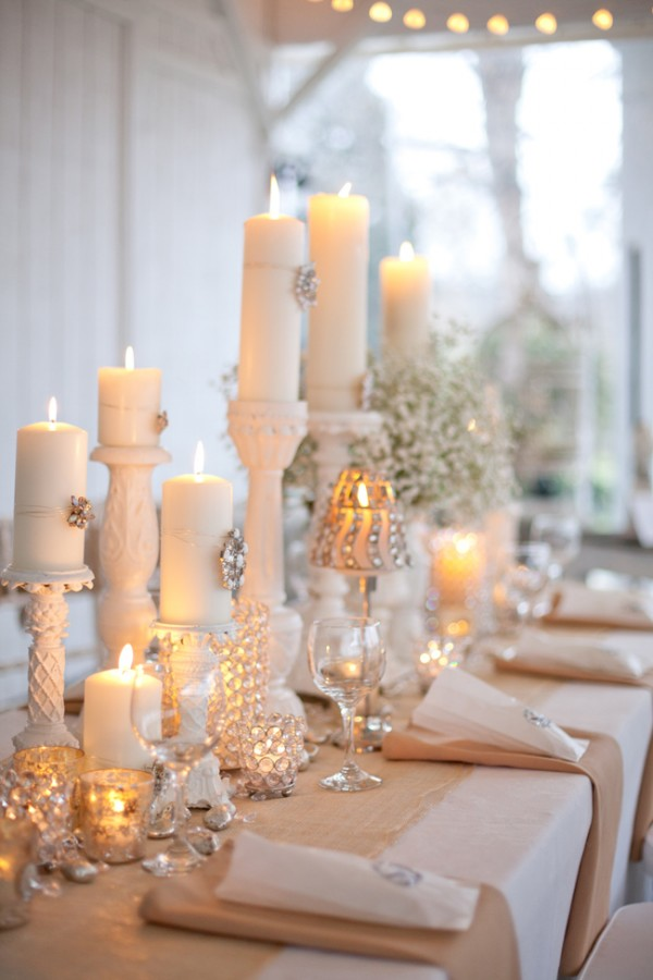 Wedding table decorations ideas for Cheap wedding table decorations ideas