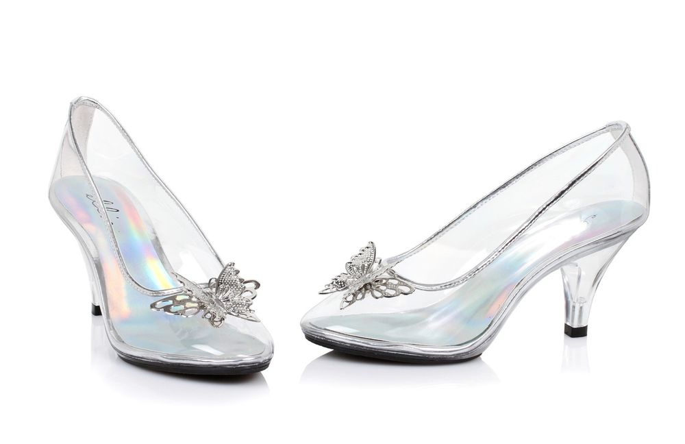 Uk Clear Jelly Shoe Girls Cinderella