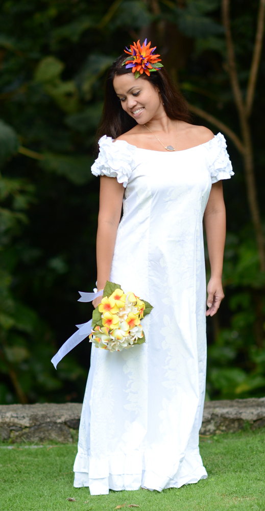 Hawaiian Wedding Dress