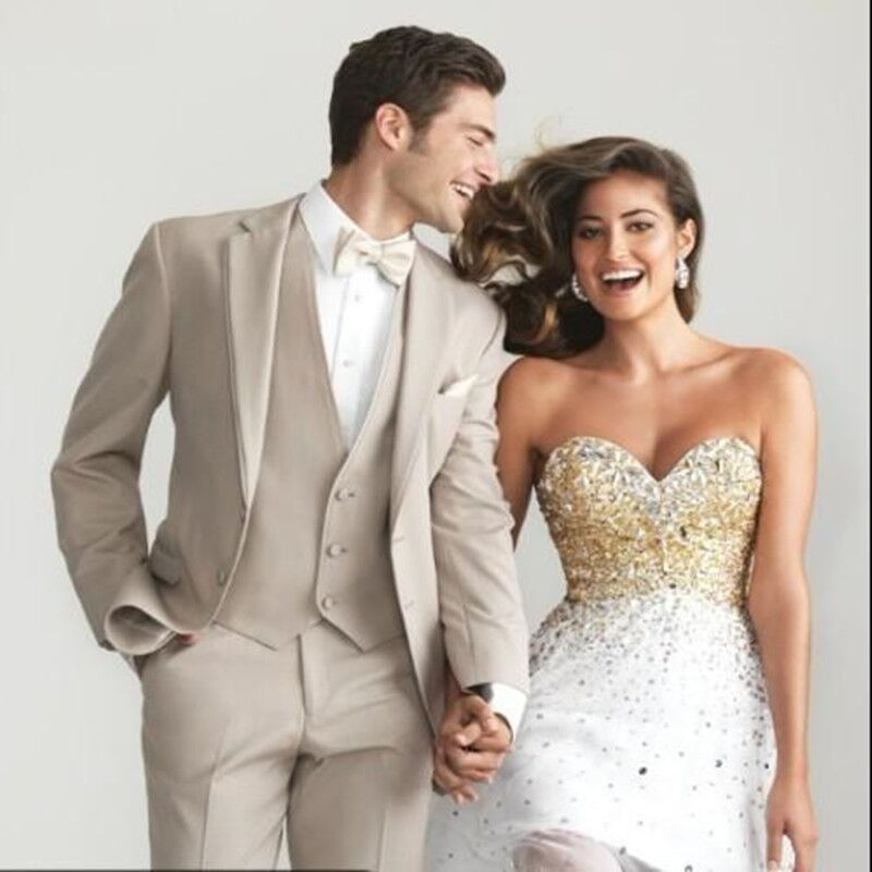 Beautiful Khaki Tuxedos For Weddings Images - Styles & Ideas 2018 ...