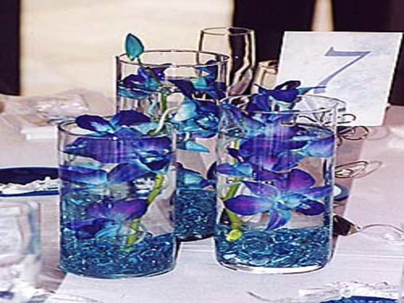 Royal Blue And Silver Wedding Centerpieces 2018 Images Pictures
