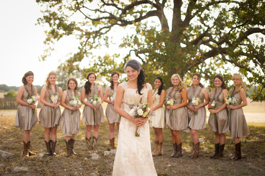 Rustic Country Wedding Gowns