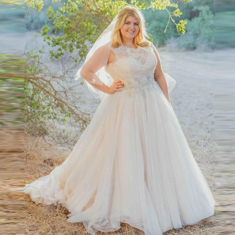 Country Wedding Dress Plus Size