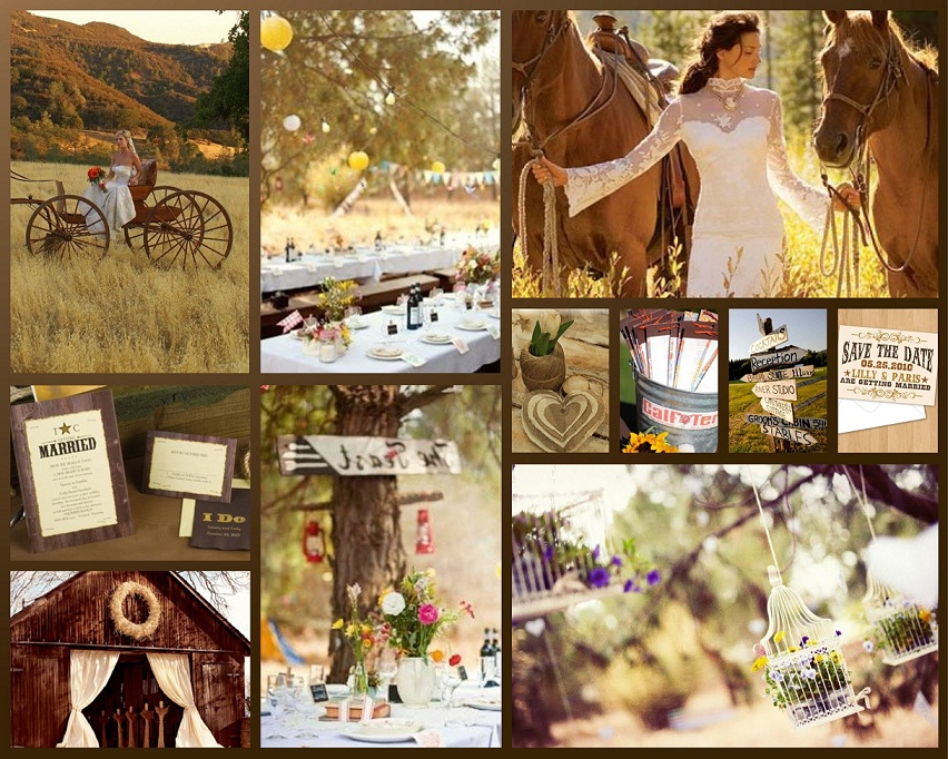 Country Wedding Reception Decorations Indoor And Outdoor