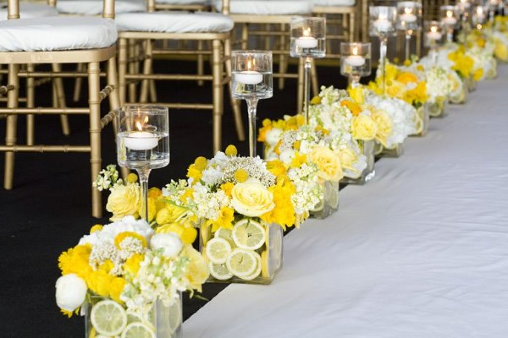 92 wedding decorations yellow do it yourself wedding creative and elegant church decorations for weddings junglespirit Image collections