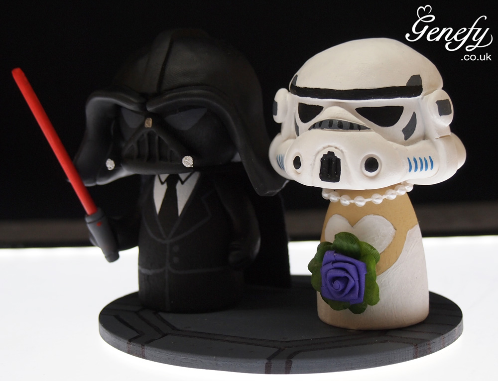stormtrooper wedding cake topper wars wedding cake toppers 20536
