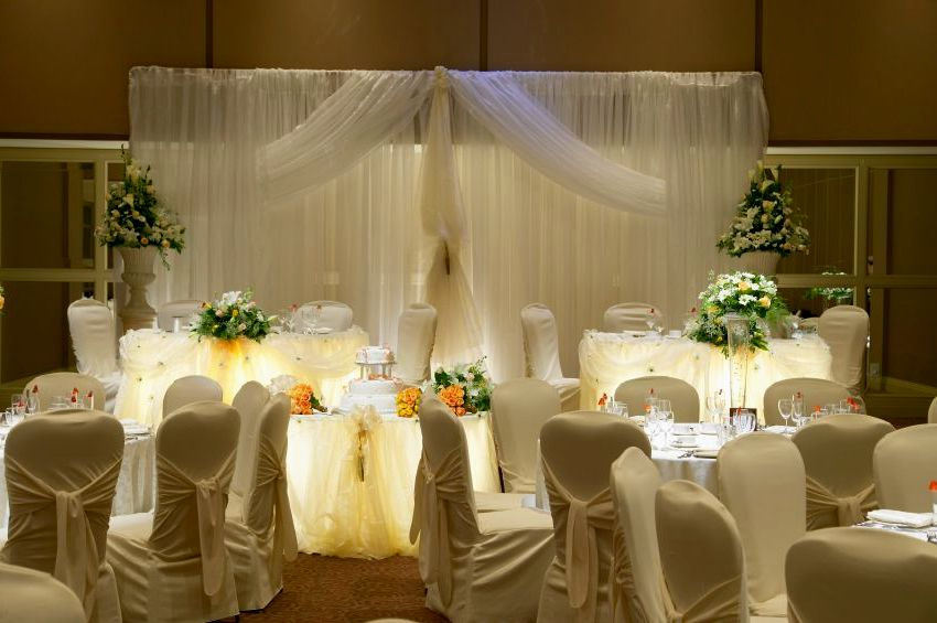 Ideas for wedding decorations tables
