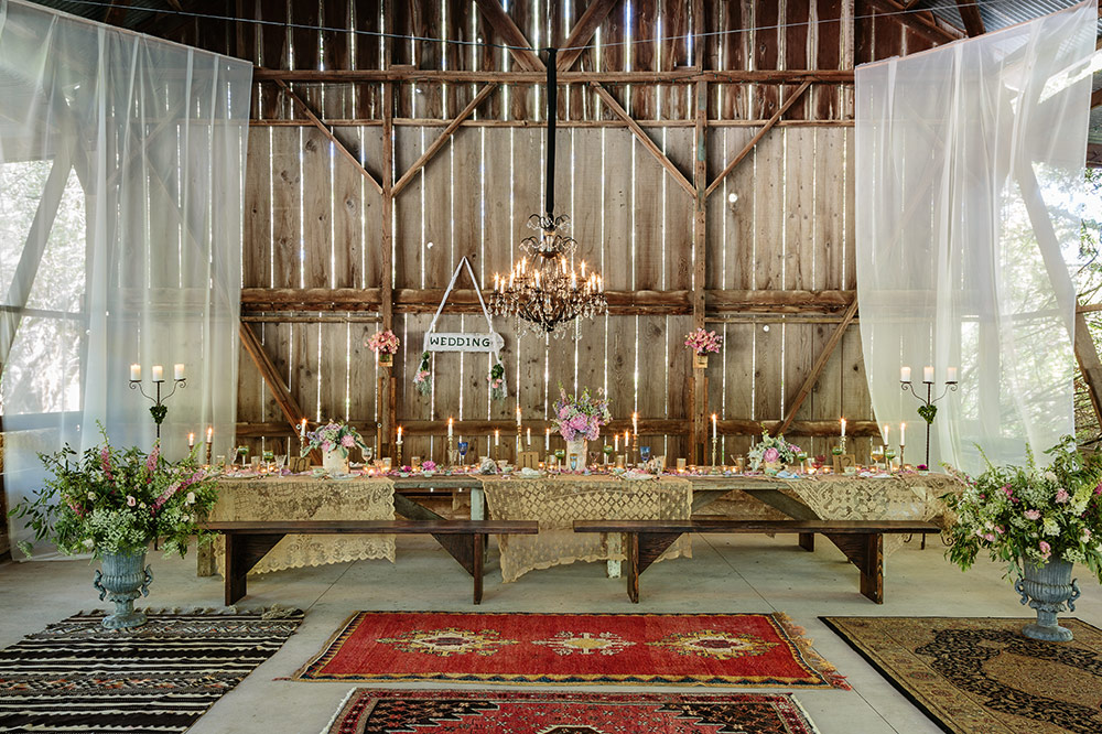 Decorating Your Barn Wedding