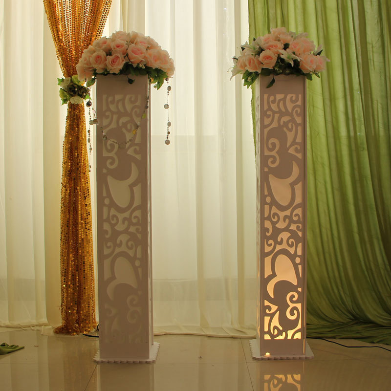 Wedding decorations with columns for Decorative columns