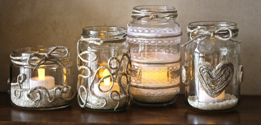 mason jar wedding centerpiece ideas - Wedding Decor Ideas