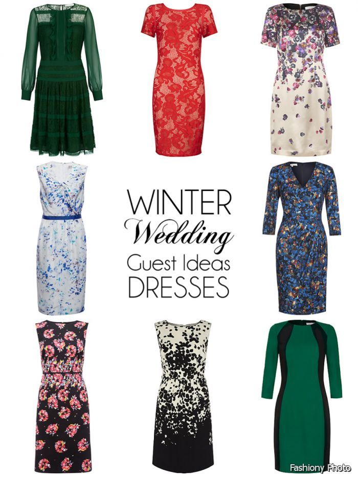 Dress Winter Wedding Guest