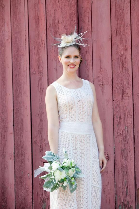 Knit Wedding Dress - Homemade Wedding Dress