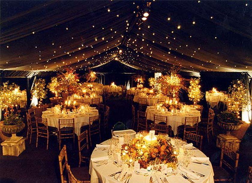 Simple fall wedding